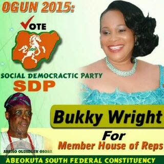 0018 Actress Bukky Wright joins politics