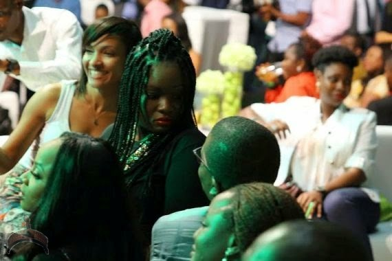 0019 Pics: Toolz & boo Tunde Demuren spotted at event over the weekend