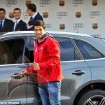 1 424 150x150 Audi gives out Brand new cars to Barcelona football Players.