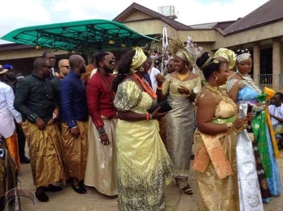 1 58 Check out More pics from Olu of warris son & billionaire daughters wedding