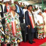 1 69 150x150 Photos from President Jonathans Declaration @Eagles Square today