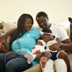 1 813 150x150 Mercy Johnson shares family Photos with Hubby, daughter & new born son