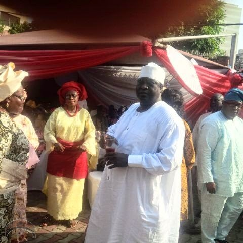 1151 Pics: Former IG of Police Tafa Balogun celebrates wifes 60th birthday