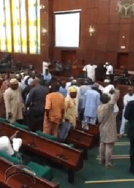 2 1 Update on Natl assembly Turmoil: Speaker finally gains access into House
