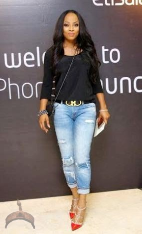 276 Check out the two casual chicks..(Genevieve Nnaji vs Toke Makinwa): Who killed it ?