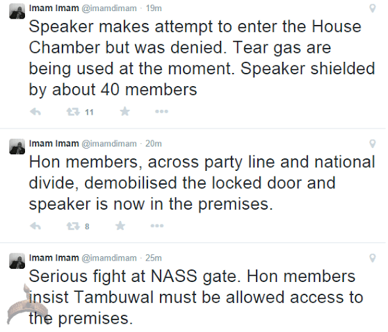 316 Update on Natl assembly Turmoil: Speaker finally gains access into House