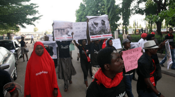 73 Pics: #Bringbackourgirls group pour to the street to protest killing of 47 Yobe students