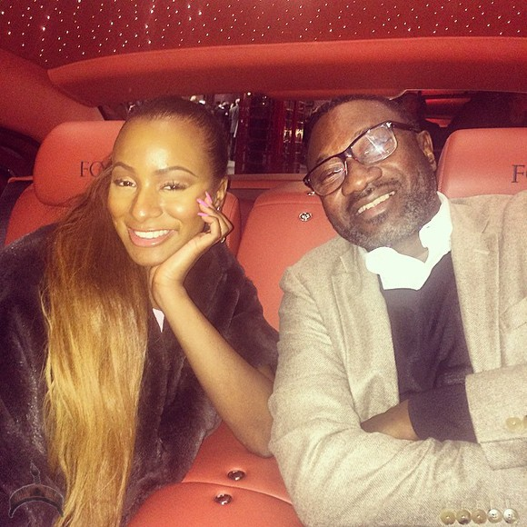 CuppyBday1 Photos: DJ Cuppy Celebrates 22nd Birthday With Billionaire Dad