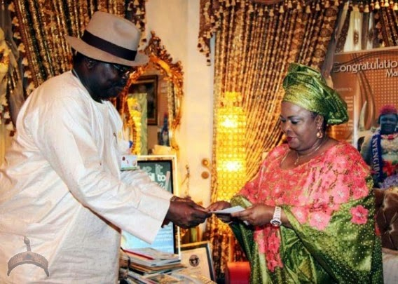 Patience Jonathan1 Photos: Patience Jonathan shows off her National I.D card