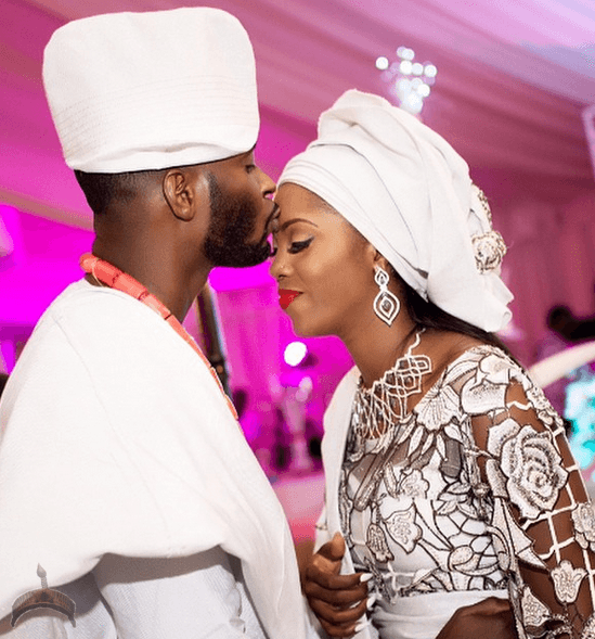 Tiwa Savage Tiwa Savage & Hubby Mark one year wedding anniversary