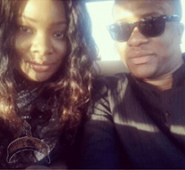 Toolz 1 OAP Toolz sends Birhtday shoutout to her man, Tunde Demuren