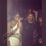 Toolz and Ann Ogunsulire 150x150 Images: More Halloween Costume Of Some Nigerian Celebrities