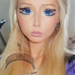 barbie valeria1 150x150 Photos: Haters attack Human Barbie Valeria Lukyanova