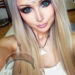 barbie valeria4 150x150 Photos: Haters attack Human Barbie Valeria Lukyanova