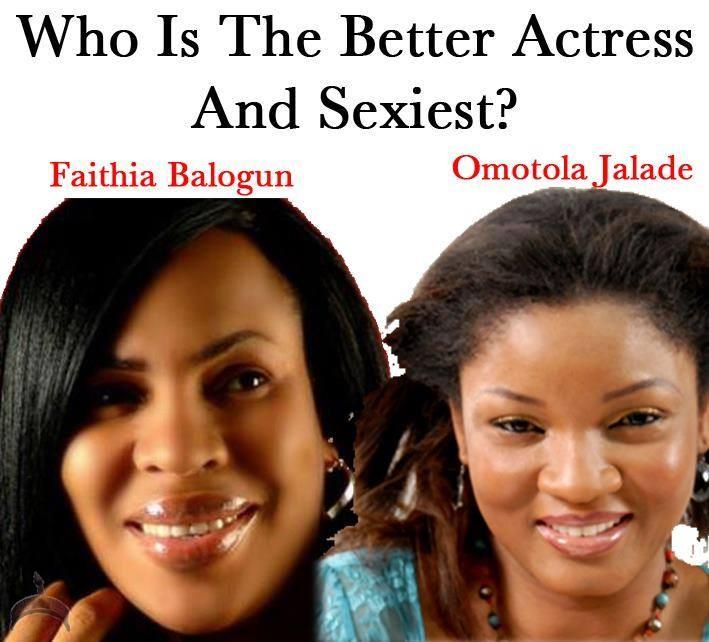 between Fathia Balogun Vs Omotola