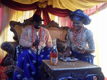 blessing okagbare3 Photos from sprint queen, Blessing Okagbares traditional wedding
