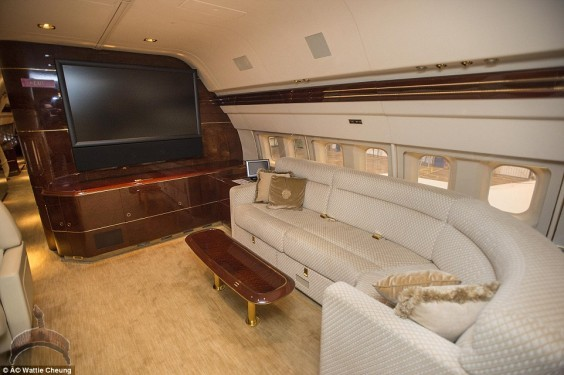 donald trump1 Photos From Inside Donald Trump's N17 Billion Private Jet