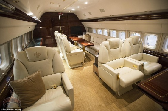 donald trump3 Photos From Inside Donald Trump's N17 Billion Private Jet