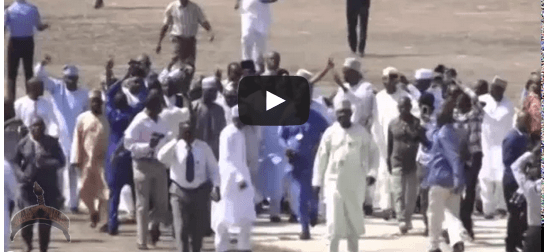 video1 SchoVideo: How Tambuwal & his aides forced their way into the National Assembly