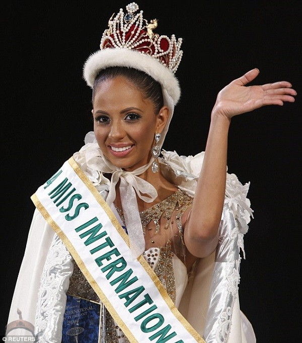 winner valerie hernandez The Newly Crowned Miss International 2014