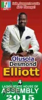 00 Actor, Olusola Desmond Elliot wins APC's Lagos Assemby ticket