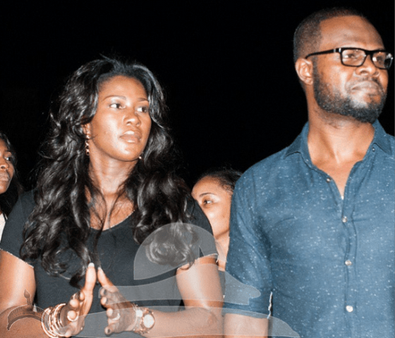 002 Stephanie Okereke & hubby spotted mages from The Experience Lagos event