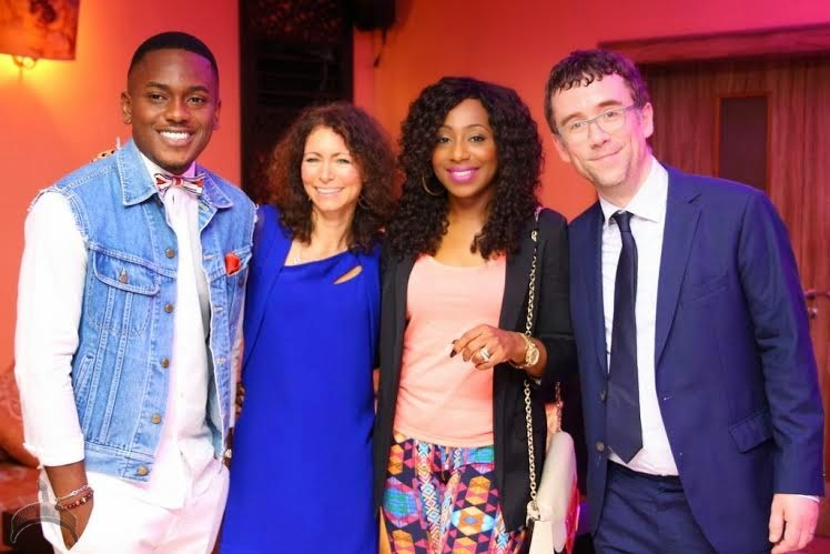1 431 Pics: Alex Okosi,Dakore, Waje, other celebs meet for Shuga launch