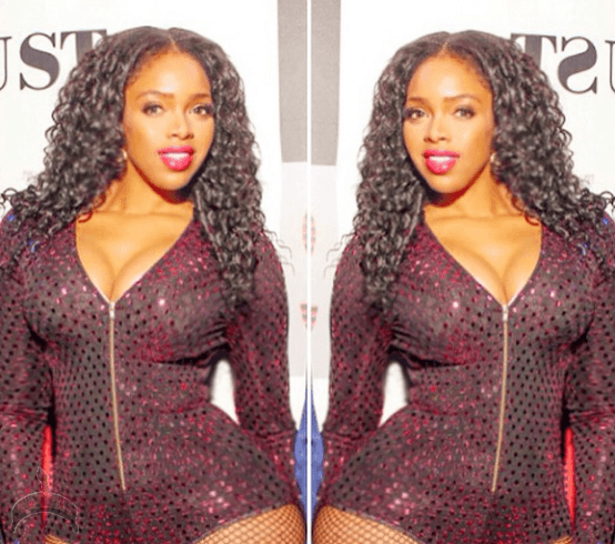 225 Pics: Tracy Ogbonna & her big butt rock New York night club