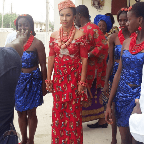 238 Photo: Ibinabo Fiberesima stunning at her traditional wedding