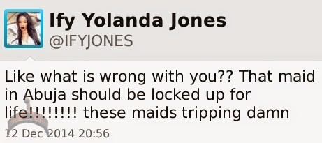 318 Ify Yolanda Jones disagress with Wale Gates defence of maid/baby killer