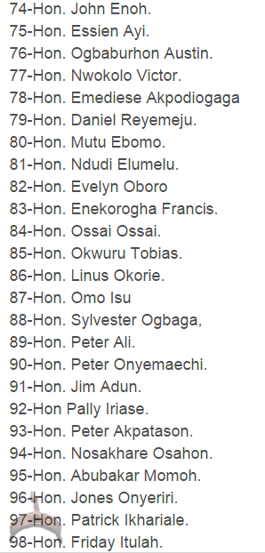 41 See the names Of Reps Who Have Signed Jonathan's Impeachment