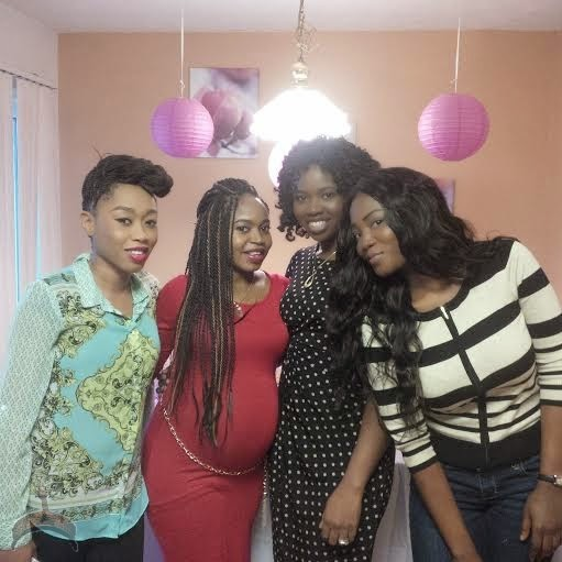 420 Check out pics from Quincy Ayodeles daughters baby shower