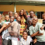 54 150x150 Photos: Nollywood Actress Empress Njamah visits Kids with Down Syndrome !