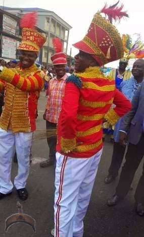 Amaechi1 Hehe! See Gov. Amaechis costume to Rivers State carnival