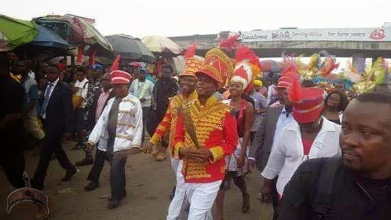 Amaechi4 Hehe! See Gov. Amaechis costume to Rivers State carnival