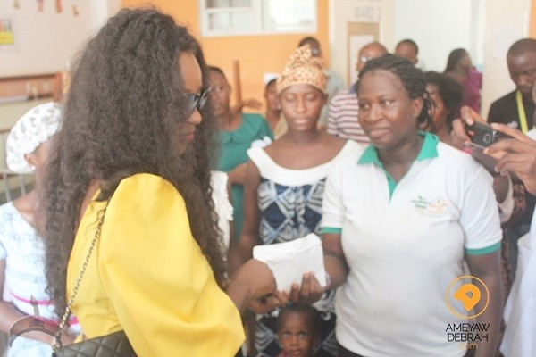Jackie Appiah birthday 6 Check Out How Jackie Appiah Celebrated Her 31st Birthday With Orphans In Ghana