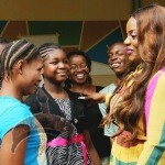 b 150x150 Photos: Nollywood Actress Empress Njamah visits Kids with Down Syndrome !