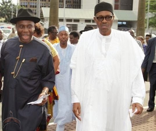 buhari Gov. Amaechi is Buharis running mate ?