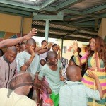 c 150x150 Photos: Nollywood Actress Empress Njamah visits Kids with Down Syndrome !