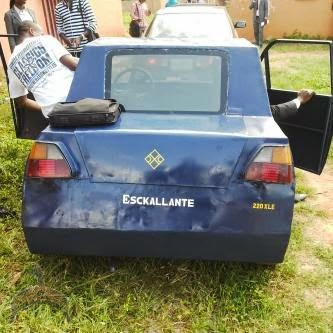 Images Of ESCKALLANTE!, Moving Car Made By Students At Ambrose Ali University