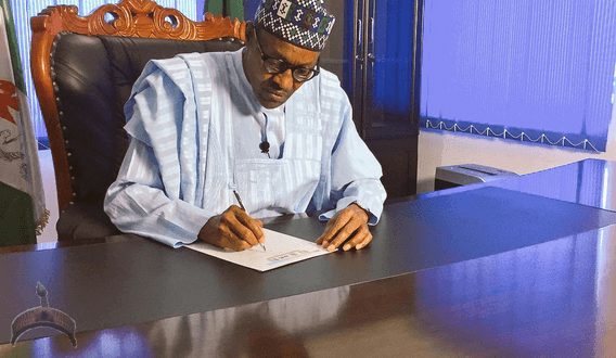 President Buhari's Speech At The Signing Of The 2016 Budget.