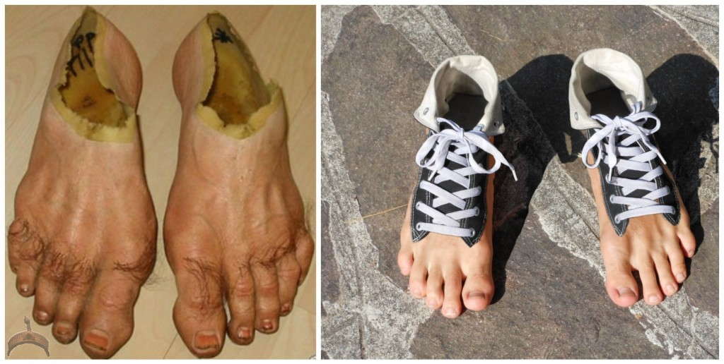 Human Foot Shoes