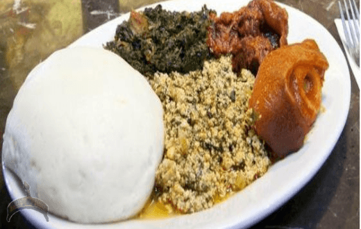 pounded yam an african dish