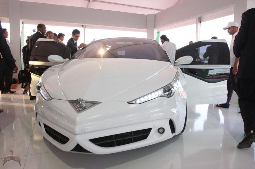 Libyens Staatschef Gaddafi entwirft Auto