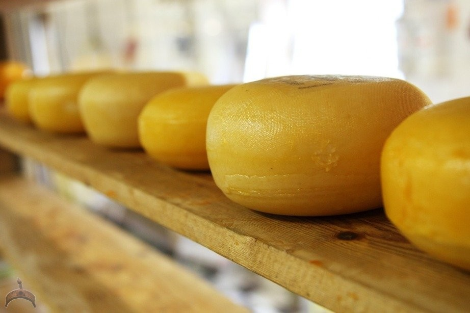 In South Dakota, it's illegal to fall asleep in a cheese factory. This is one of those laws where you have to wonder who the poor guy was who inspired it, and what happened to him?