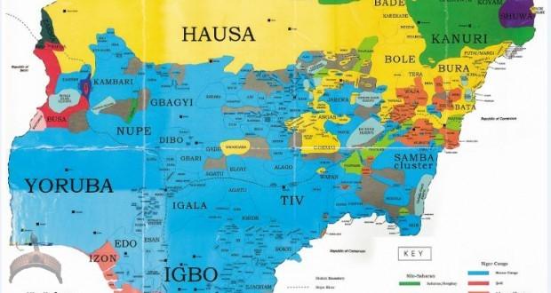 ethnolinguistic lines-Map-of-Nigeria