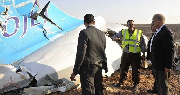 crashed airplane