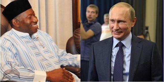 Jonathan and Putin