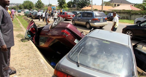 Deadly Accident At Maitama Junction in Abuja Nigeria photos