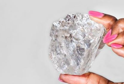 worlds 2nd largest diamond botswana